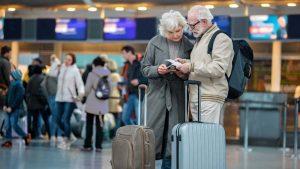 Трансфер для пожилых людей