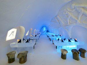 Ресторан во льду